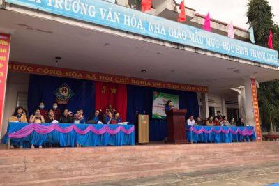 """Ngày hội: """"TIẾN BƯỚC LÊN ĐOÀN"""" tại Liên đội THCS Đinh Tiên Hoàng. Năm học 2020 – 2021"""
